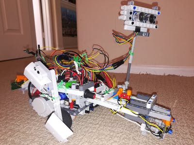 Autonomous Controllable LEGO Car