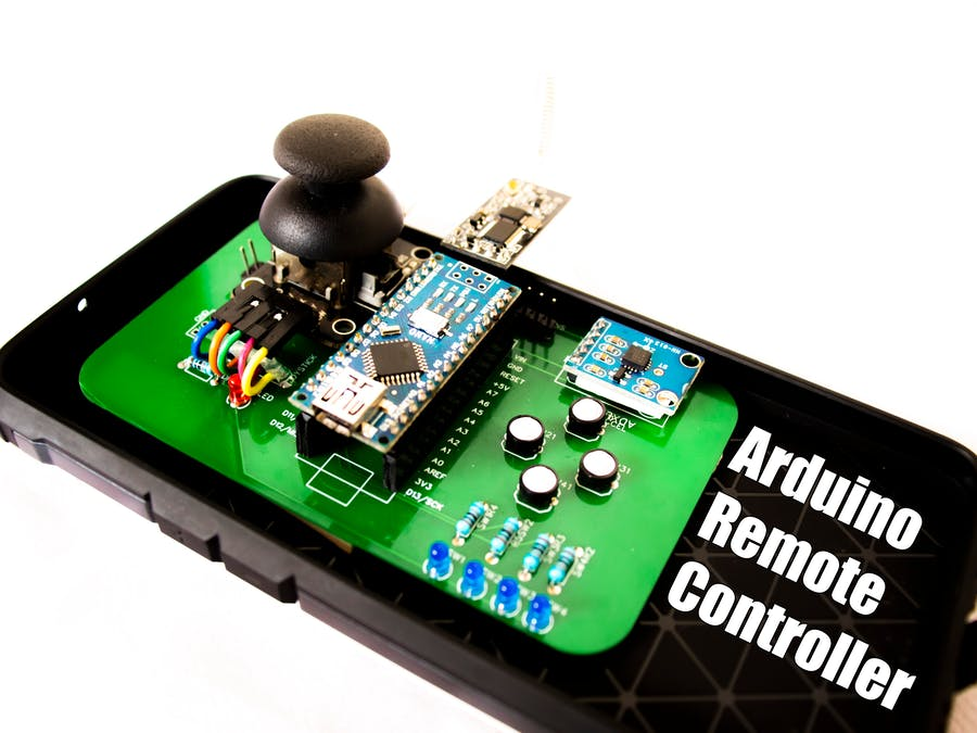 Long Range Remote Controller PCB for RC Robot