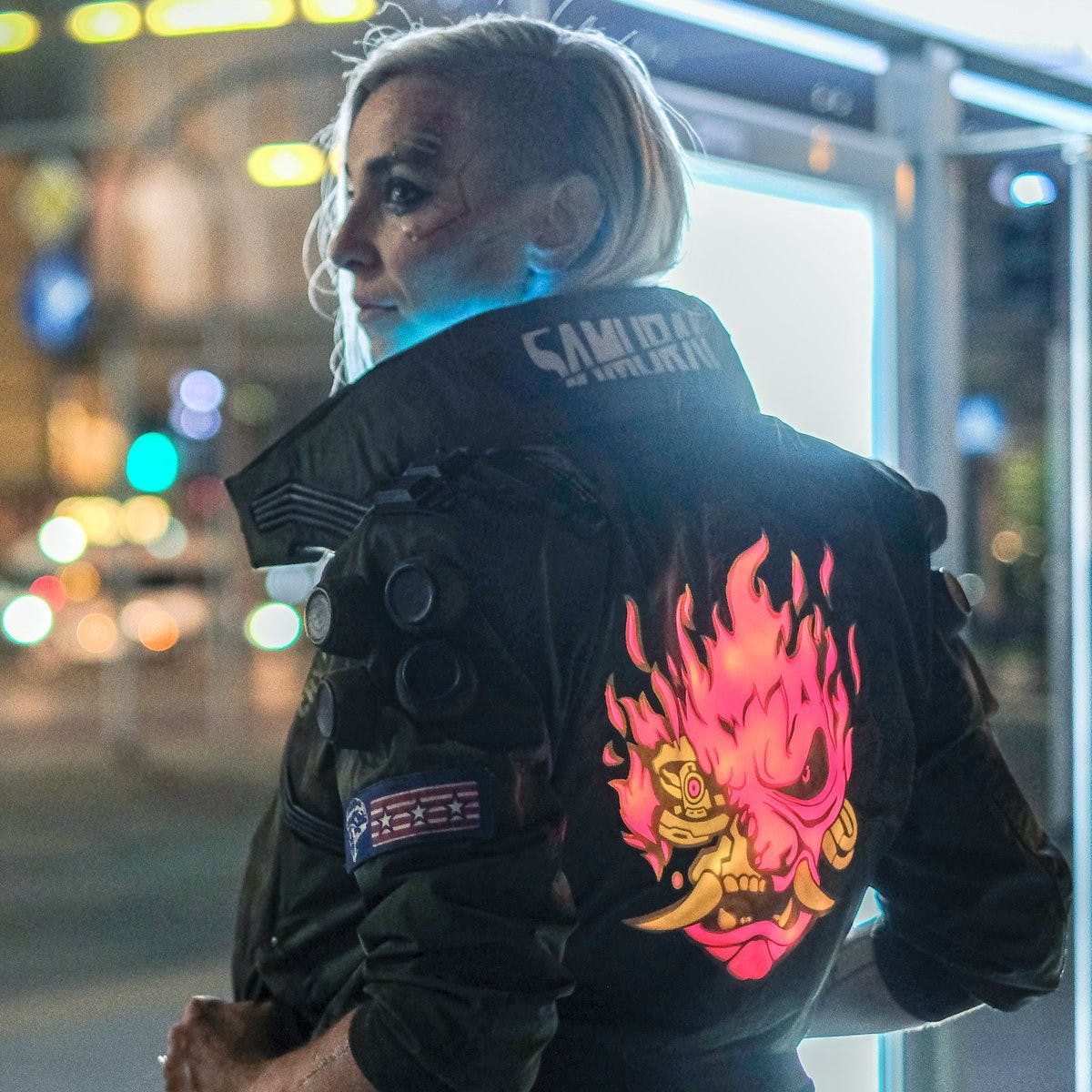 Cyberpunk 2077 Patches for Jacket