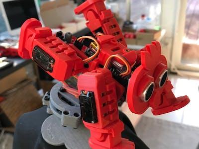 4-Legged Walking Robot #2