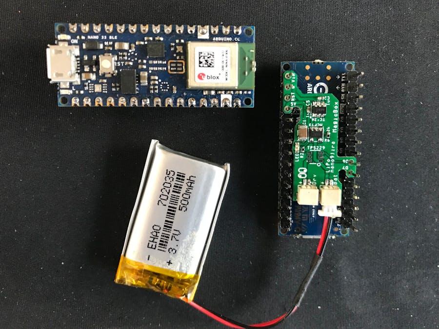Nano 33 LiPo Adapter nano9jira