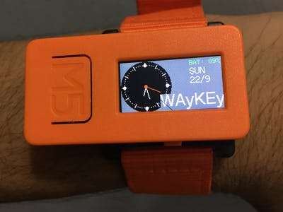 M5 Smart Watch-Using DEEP SLEEP function to increase Battery