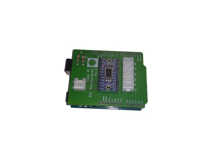 Multiplexer shield