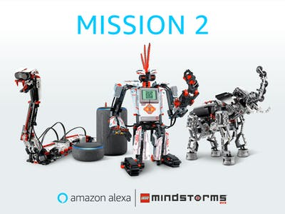 LEGO MINDSTORMS Voice Challenge: Mission 2