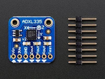 ADXL335 Accelerometer Interfacing with Arduino Uno