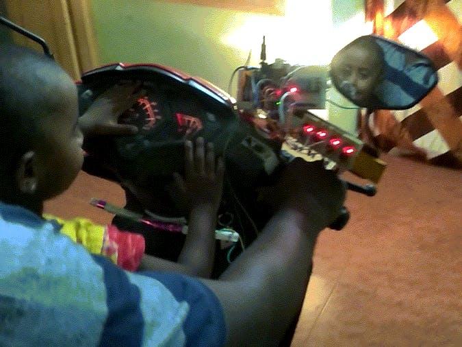 Child Acceleration & Vehicle Fall Sensor to KILL Engine