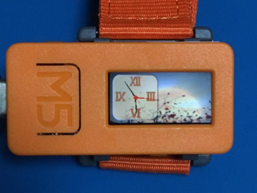 M5StickC PNG Watch