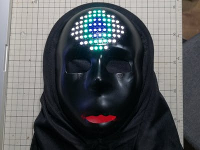 LED Eye Mask