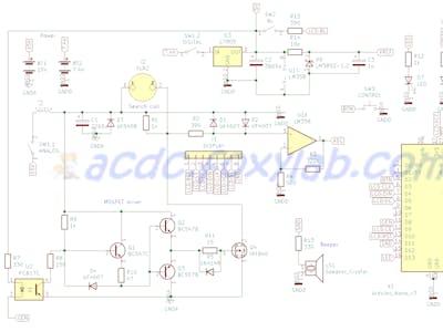 FoxyPI - Arduino Nano-Based Pulse Metal Detector