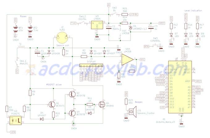 FoxyPI v3 schematic