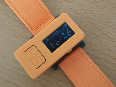 M5StickC Watch
