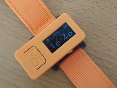 M5StickC Watch