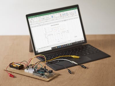 Stream Data from Arduino into Excel