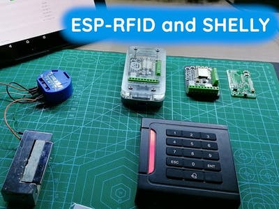 ESP-RFID with External Tasmota/Shelly