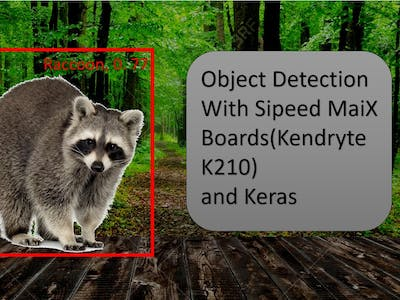 Object Detection with Sipeed MaiX Boards (Kendryte K210)