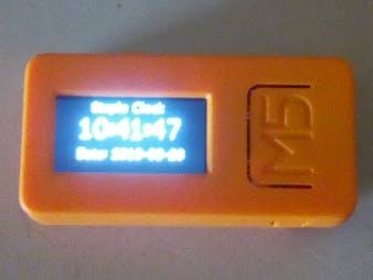 Very Simple M5StickC Clock