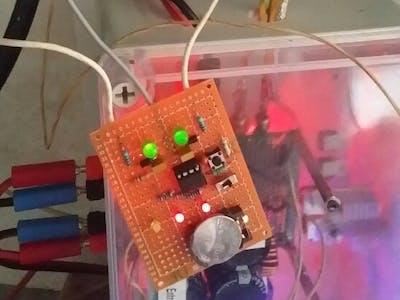 Arduino / ATtiny85 Delta AC 3-Phase Checker