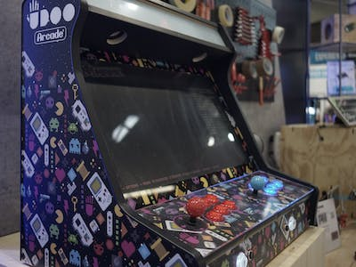 Bartop Arcade Cabinet with UDOO BOLT