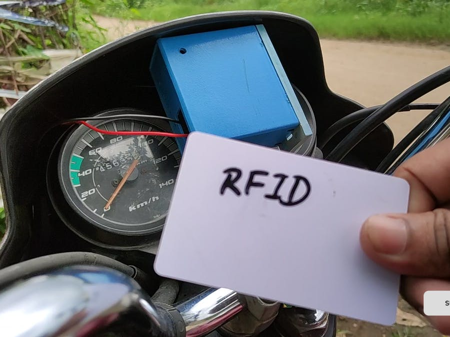 An Alternate RFID Key for Bike Security
