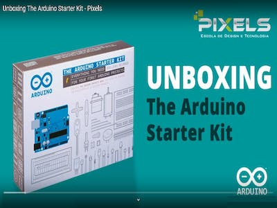 Unboxing the Arduino Starter Kit