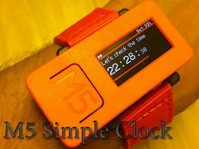 M5 Simple Clock