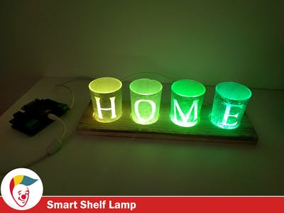 Cozy Home Lamp with BigClown