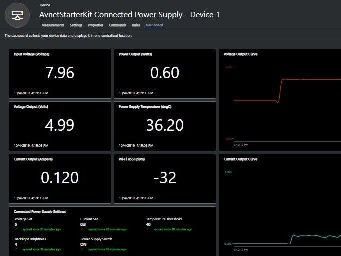 Azure Sphere Connected Power Supply