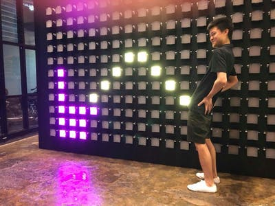 Click Canvas, an Interactive Wall