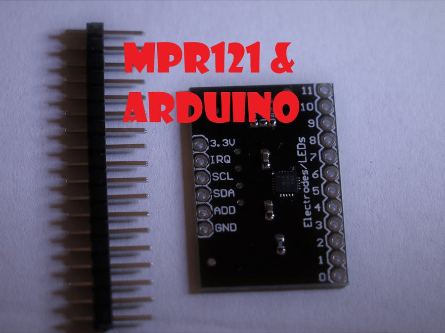 Turn (Almost) Any Surface Into a Touch button with MPR121