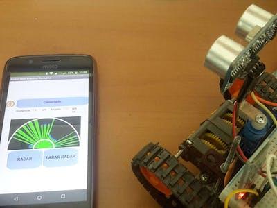 Generic Arduino Mobile Radar