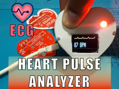 Arduino Heart Beat with ECG Display & Sound