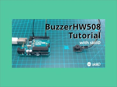 """How to Use Buzzer HW-508 with """"skiiiD"""""""