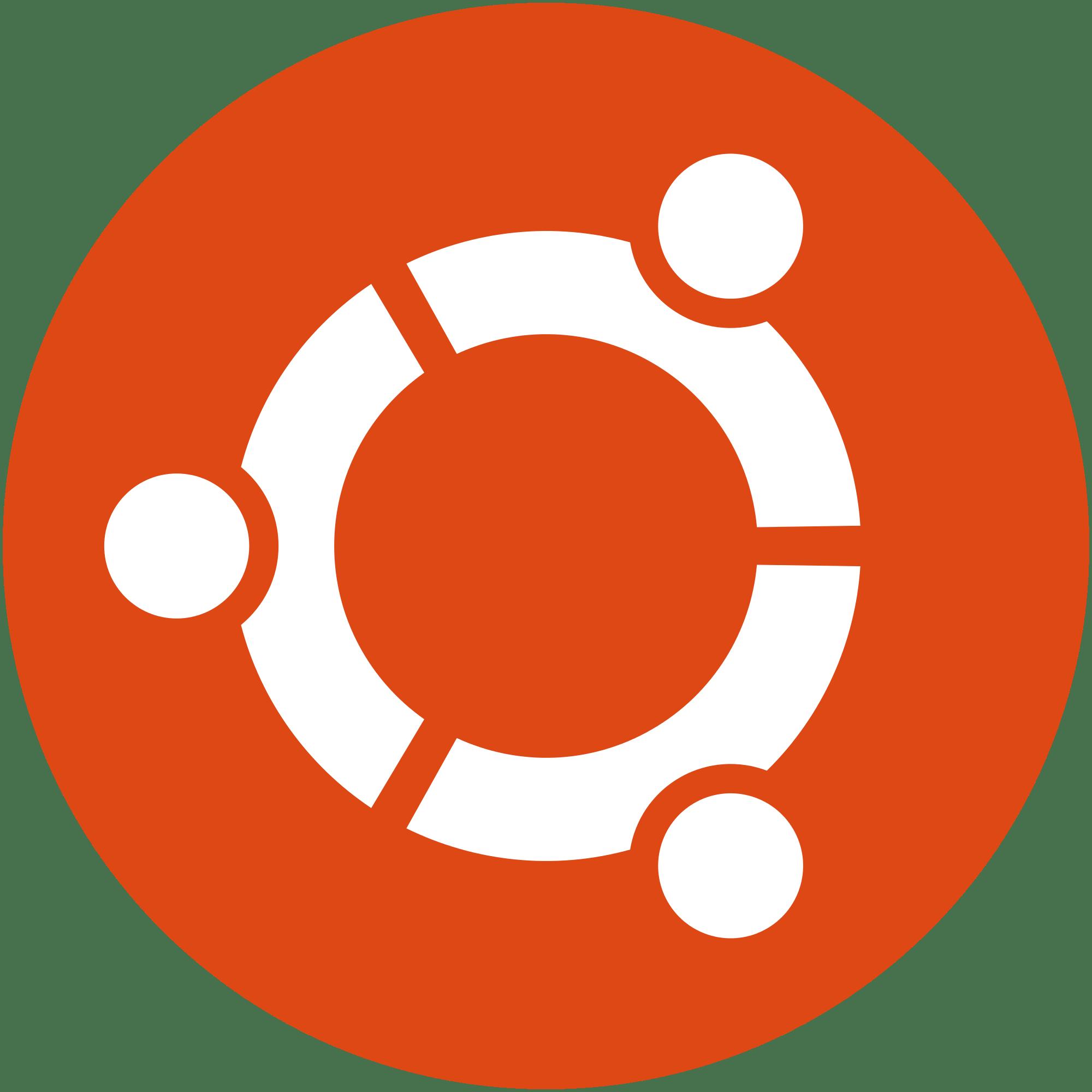 2000px logo ubuntu cof orange hex