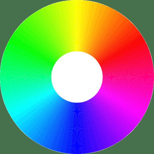 Rgb color wheel 512
