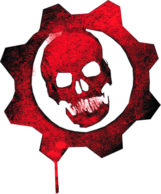 Gears of war skull logo psd55079
