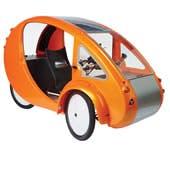 Velomobile solar car