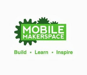 300px mobile makerspace logo 2color