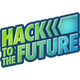 Hack to the future logo square