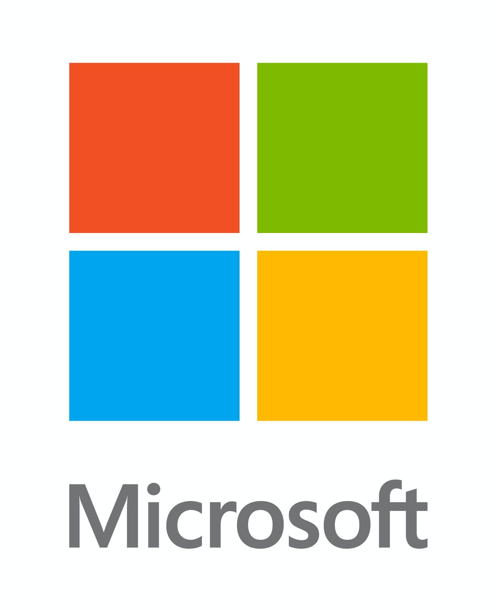 Microsoft logo 2013