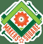 Makers square logo final button