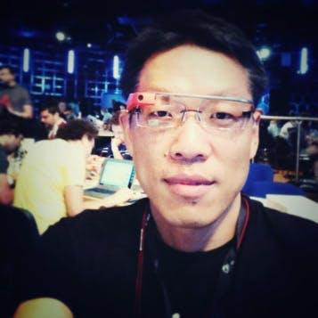 Charles cai google glass