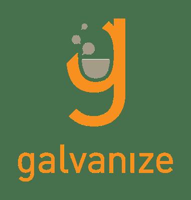 Galvanize logo text logo