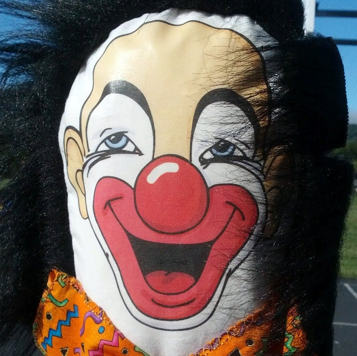 Profile photo clown