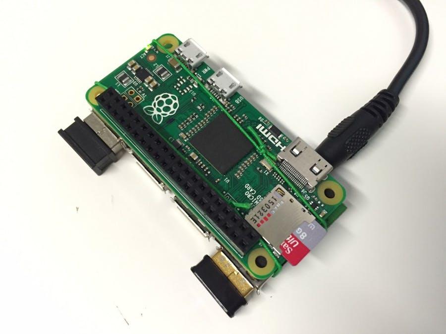 Raspberry Pi Zero – USB Hub Mod