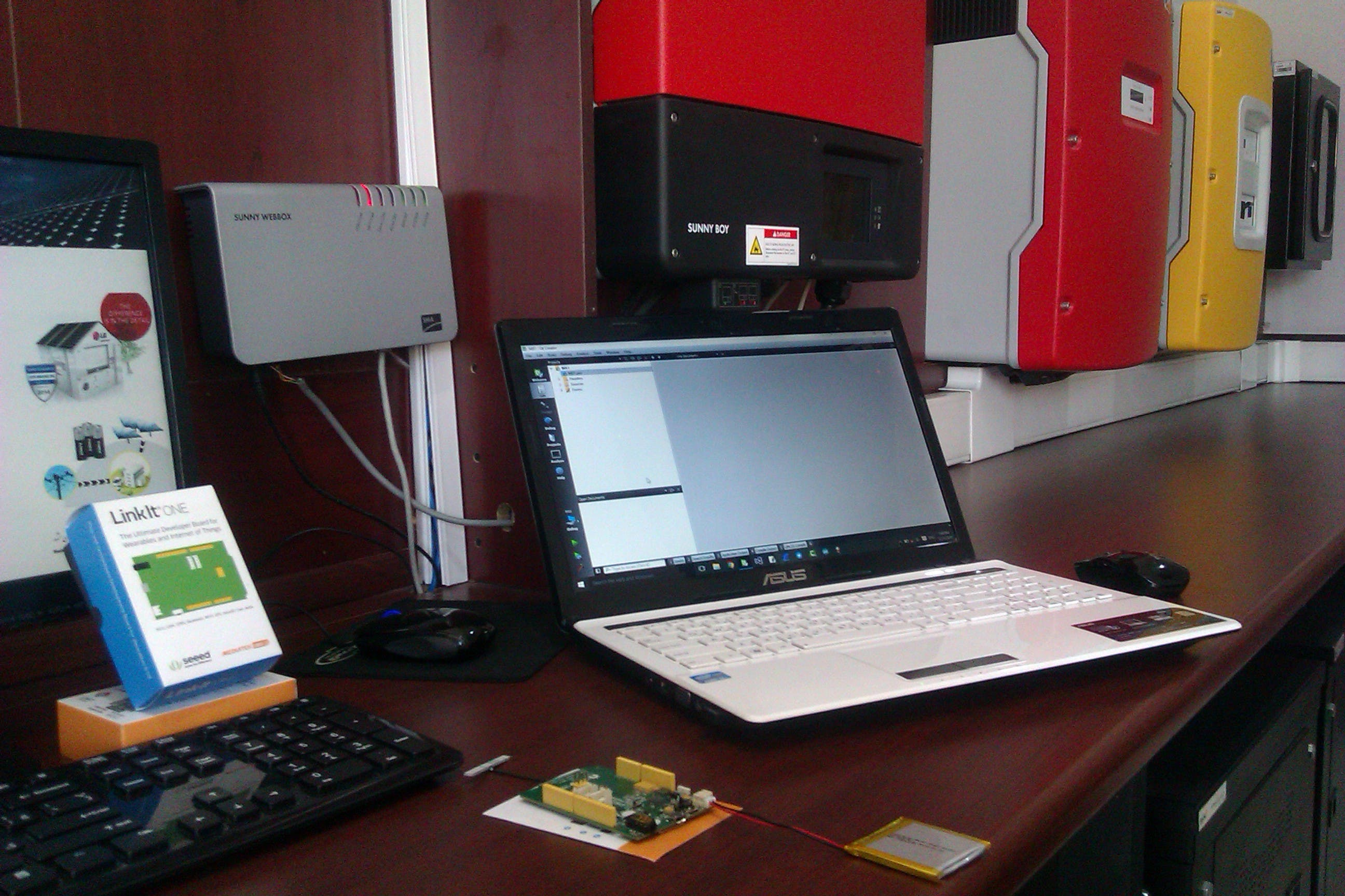 Smart Microgrid Monitoring