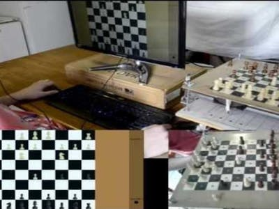 Eye-controlled chess