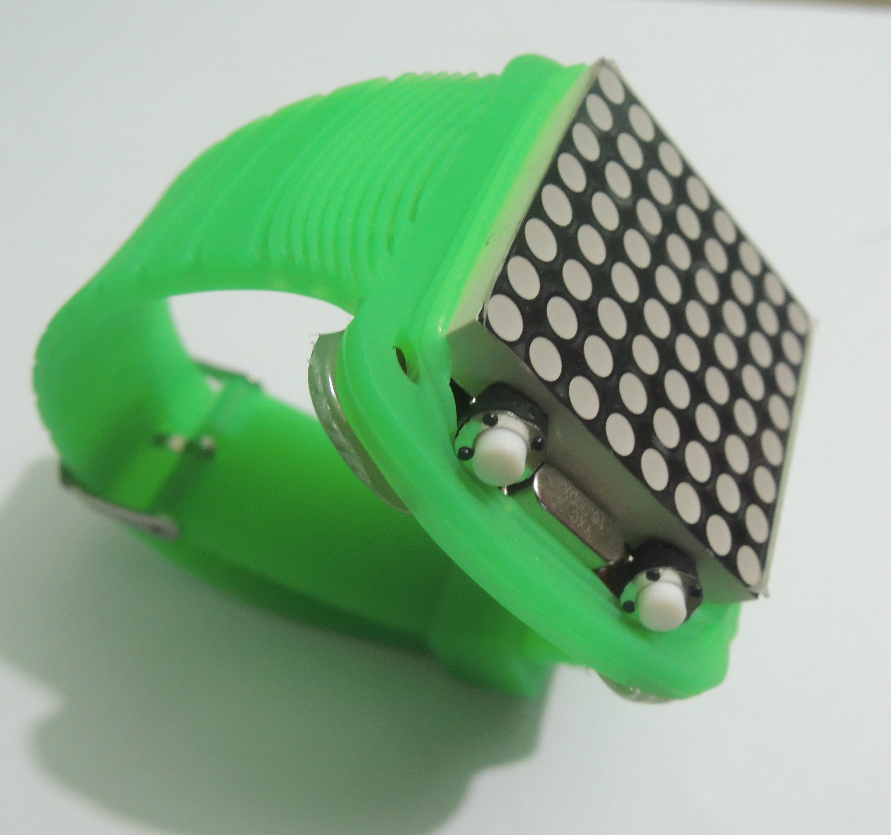 DIY Arduino Dot Matrix Wrist Watch