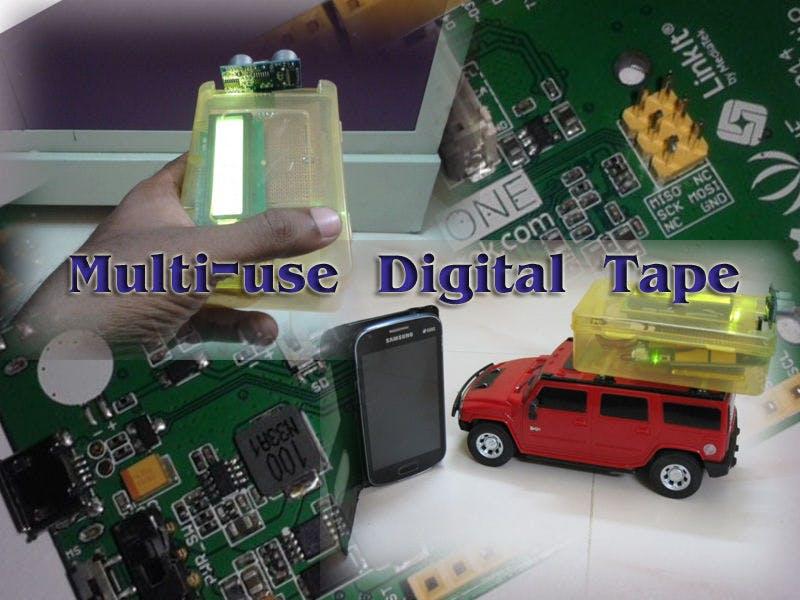BT Portable Measuring Tape