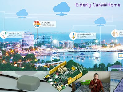 LinkIt ONE SMS Gateway for Elderly Care@Home