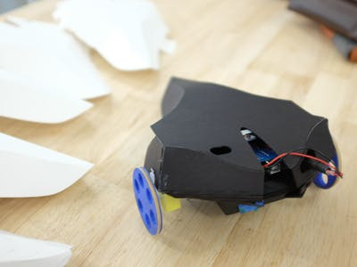 Raven: A bluetooth controlled vehicle.